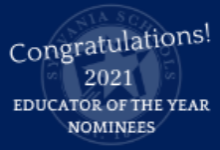 2021 Nominees for Educator of the Year