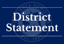 District Statement Regarding Critical Race Theory