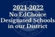 21-22 No EdChoice Designation