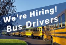 Hiring: Bus Drivers