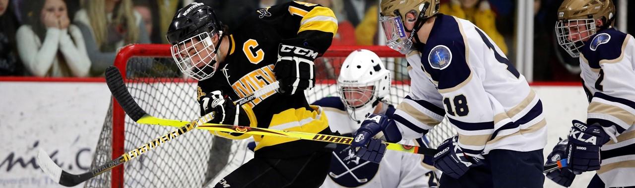 Northview Hockey player